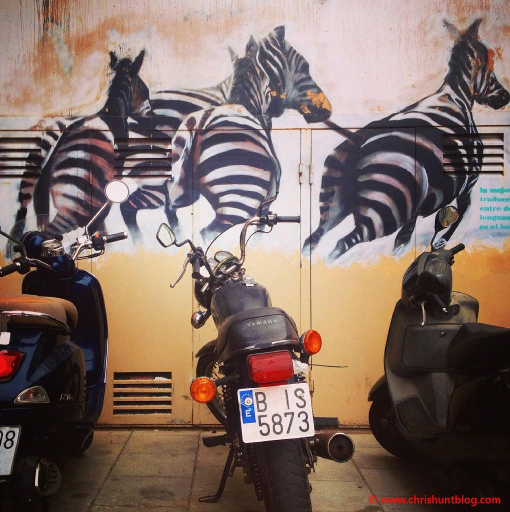Barcelona Streetart Chris Hunt Pilates