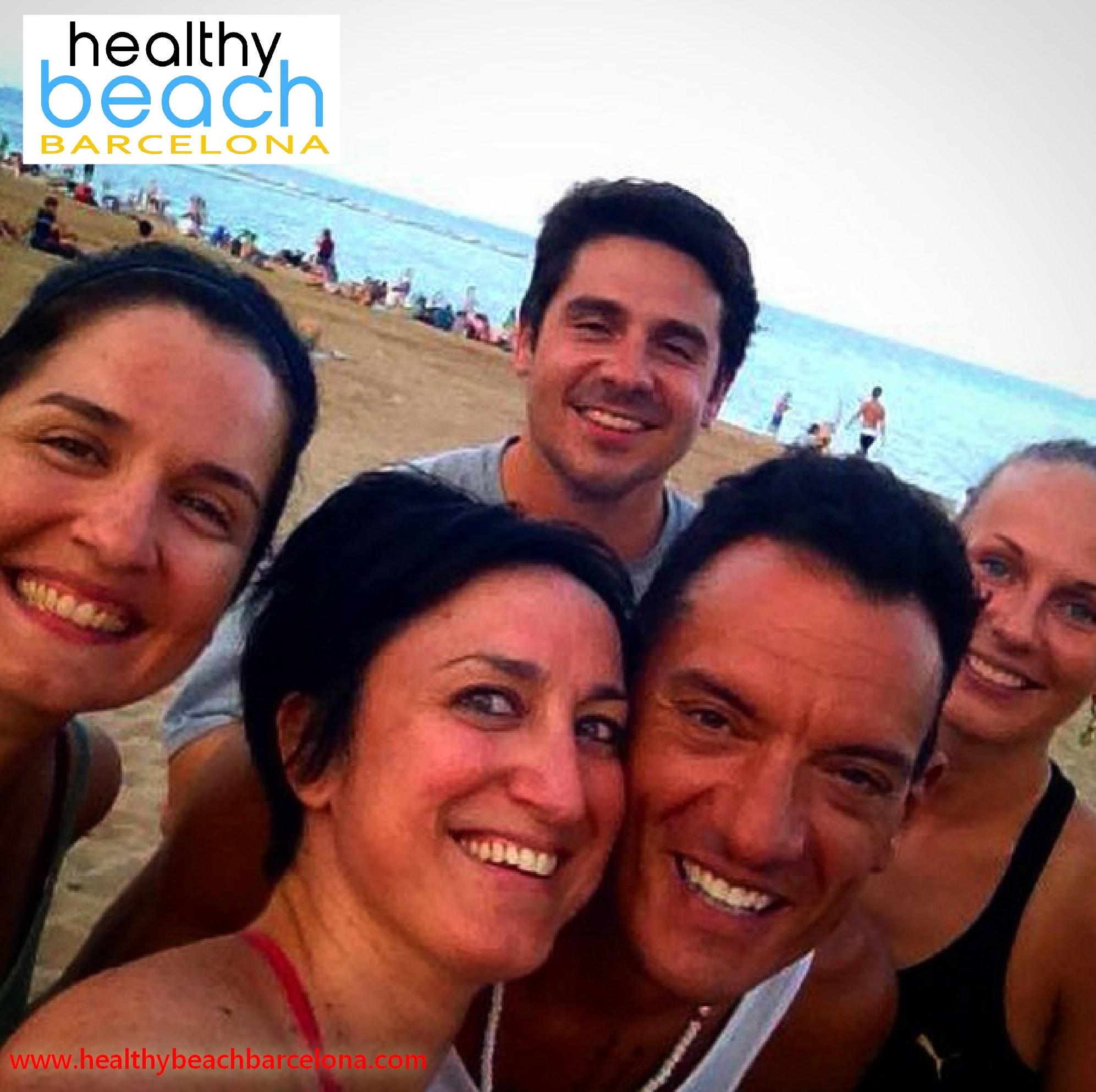 Healthy Beach Barcelona Chris Hunt Pilates
