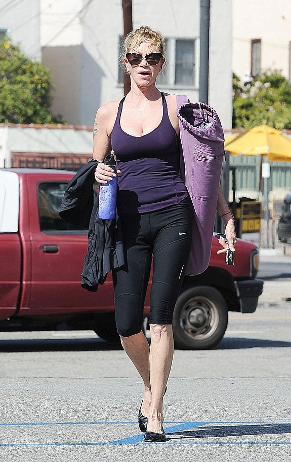 Chris Hunt Pilates Melanie Griffith