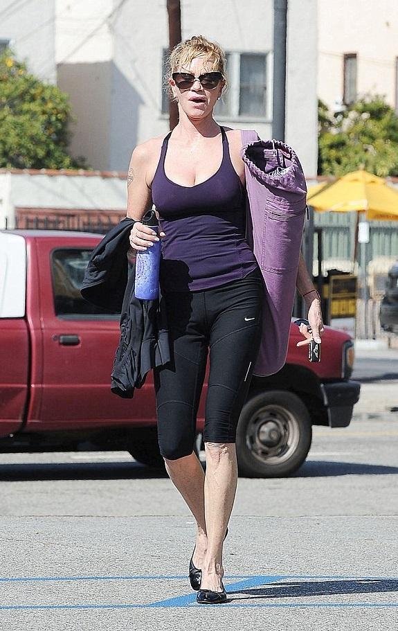 Chris Hunt Pilates Melanie Griffith
