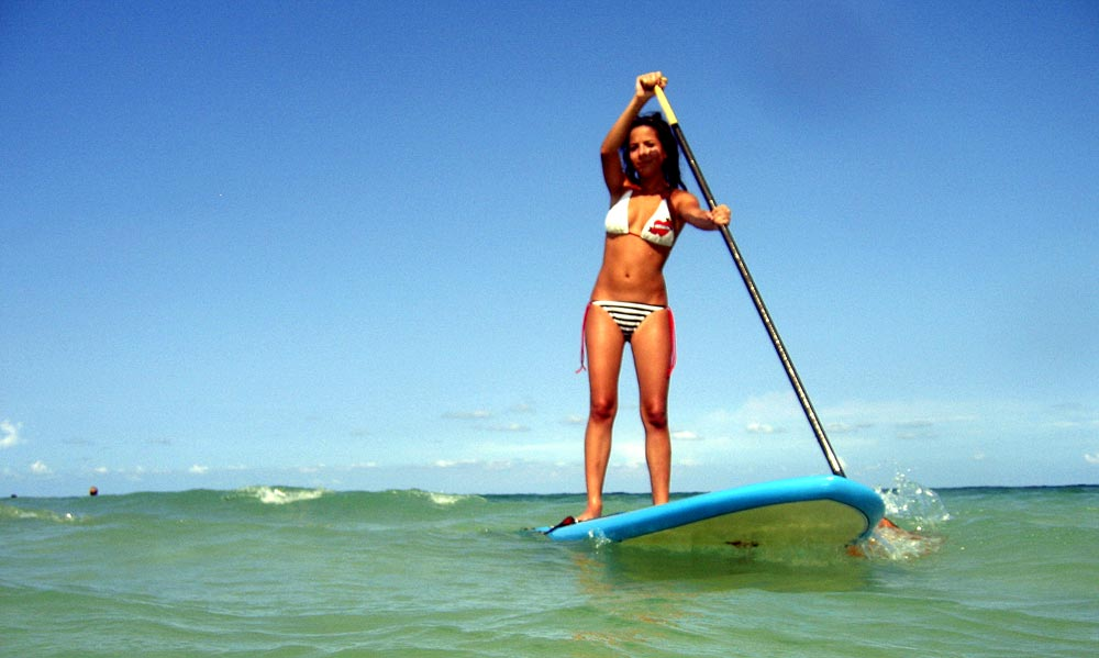 Barcelona SUP fitness sport holidays