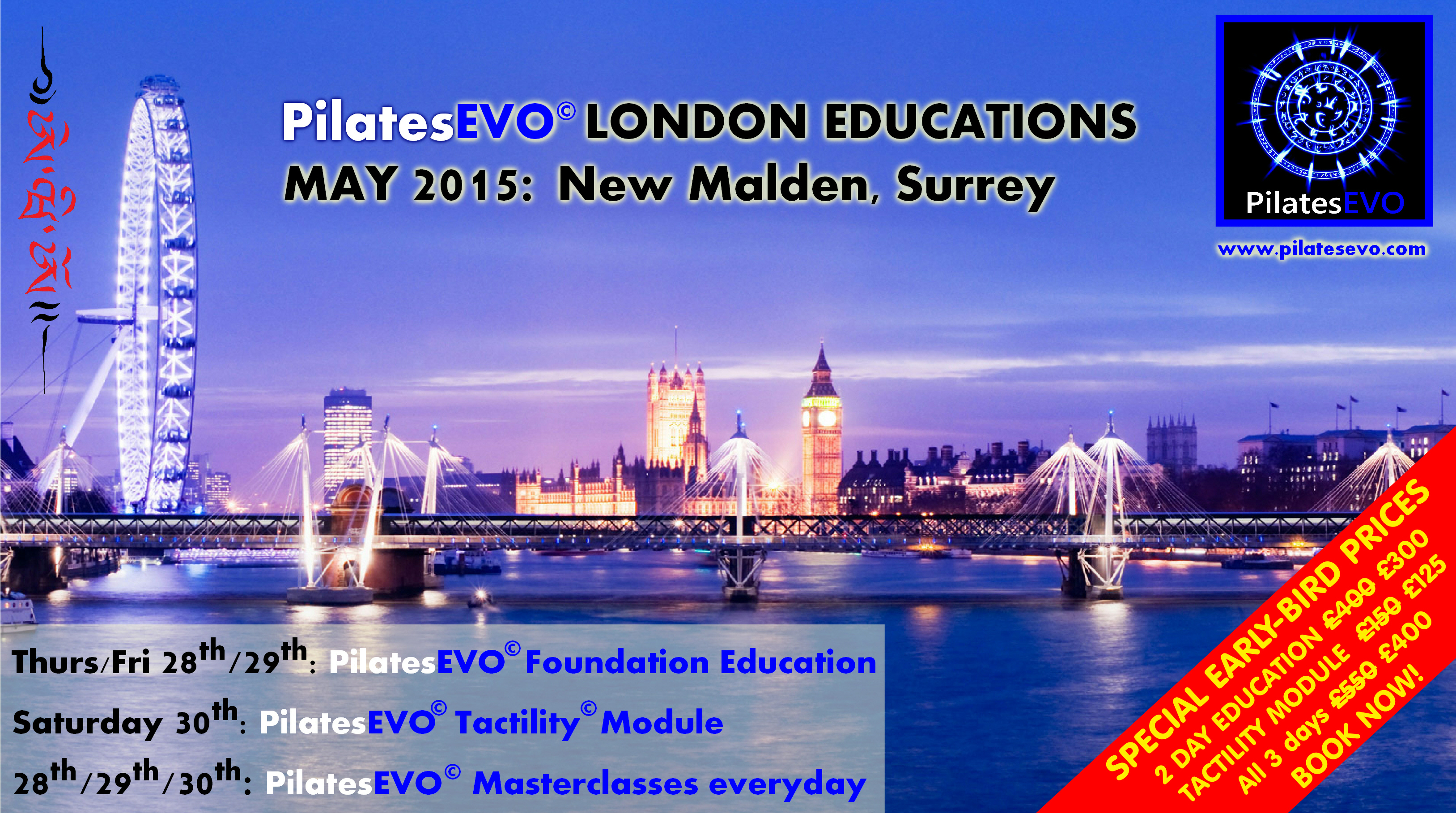 PilatesEVO London Educations May