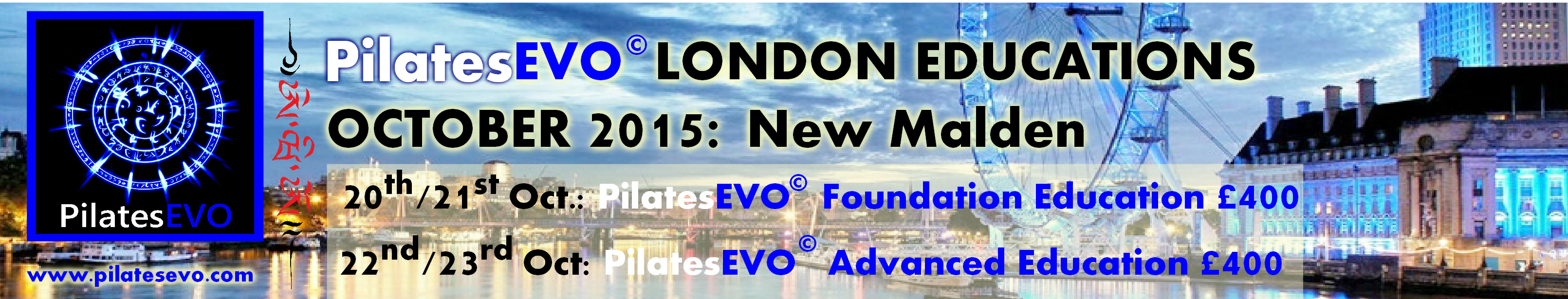 Pilates EVO London Educations