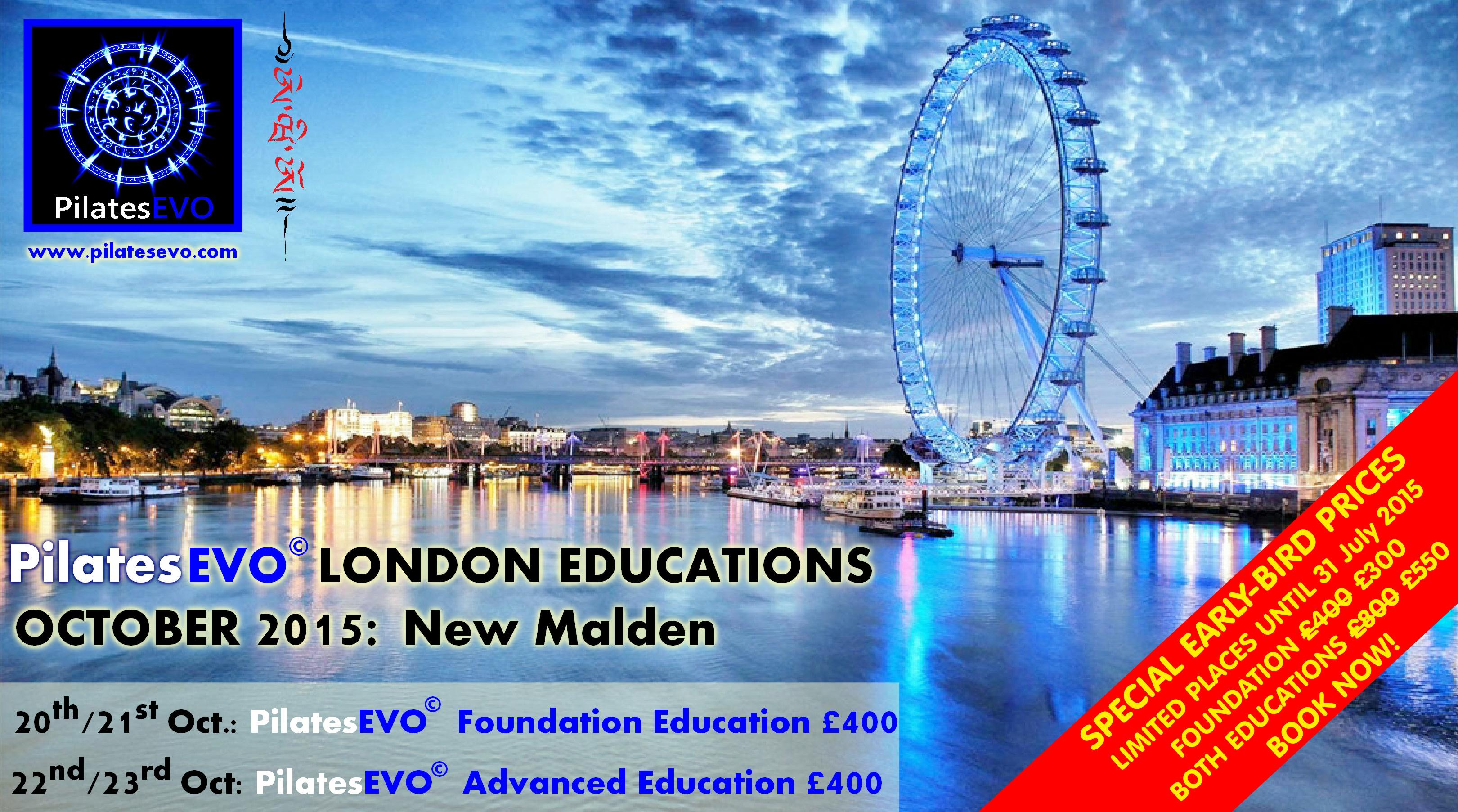 PilatesEVO London Educations Oct 2015 v.1