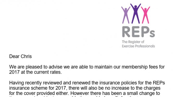 REPS Insurance Rip Off!!